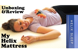 Review & Unboxing The Helix Mattress