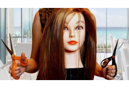 Corrina Scissor Hands ASMR Haircut