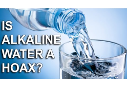 Alkaline Water: Health Miracle Or Hoax