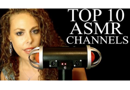 Top 10 ASMR Channels Countdown