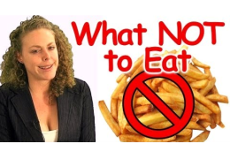 What Not to Eat, Bad Food & Healthy Alternative Foods