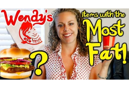 Shocking Amounts of Fat in Wendy's Hamburgers!