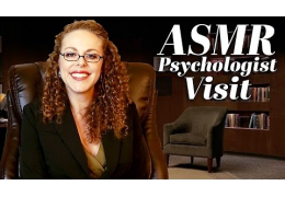 ASMR Psychologist Visit Roleplay