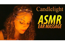 ASMR Candlelight Ear Massage