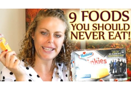 9 Foods to NEVER EAT!!