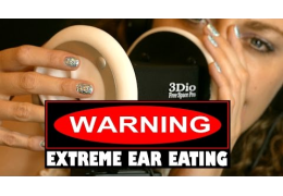 ASMR Ear Eating & Wet Mouth Sounds