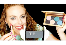 ASMR Whispering & Tapping: My Fave Makeup